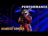"""Dragon sings """"Mama Said Knock You Out"""" by LL Cool J - THE MASKED SINGER - SEASON 4"""