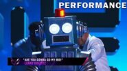 """Robot sings """"Are You Gonna Go My Way"""" by Lenny Kravitz THE MASKED SINGER SEASON 3"""