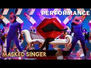 "Lips sings ""Native New Yorker"" by Odyssey - THE MASKED SINGER - SEASON 4"