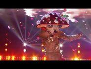 Masked Singer Season 4 Mushroom 🍄 Performs This Woman's Work Sing-Along Lyrics