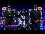 """Penguin sings """"All About That Bass"""" by Meghan Trainor - THE MASKED SINGER - SEASON 2"""
