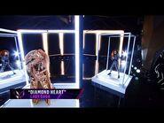 "Lion sings ""Diamond Heart"" by Lady Gaga - THE MASKED SINGER - SEASON 1"