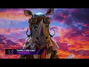 """Rhino sings """"Humble and Kind"""" by Tim McGraw - THE MASKED SINGER - SEASON 3"""