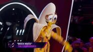 """Banana sings """"Brick House"""" by The Commodores THE MASKED SINGER SEASON 3"""