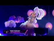 """Kitty sings """"Back to Black"""" by Amy Winehouse - THE MASKED SINGER - SEASON 3"""