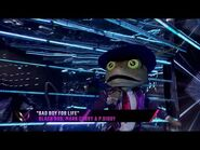 """Frog sings """"Bad Boy for Life"""" by Black Rob, Mark Curry & P"""