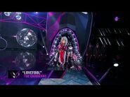 "Alien sings ""Lovefool"" - THE MASKED SINGER - SEASON 1"
