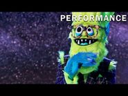 """Thingamajig sings """"Easy"""" by Commodores - THE MASKED SINGER - SEASON 2"""