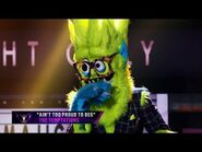"""Thingamajig sings """"Ain't Too Proud To Beg"""" by The Temptations - THE MASKED SINGER - SEASON 2"""