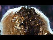 "Lion sings ""California Dreamin'"" by Sia - THE MASKED SINGER - SEASON 1"