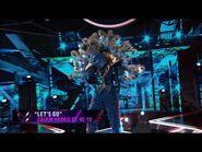 """Peacock sings """"Let's Go"""" by Calvin Harris ft"""