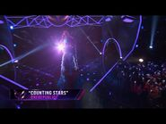 """Peacock sings """"Counting Stars"""" - THE MASKED SINGER - SEASON 1"""