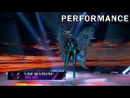 "Butterfly sings ""Livin' On A Prayer"" by Bon Jovi - THE MASKED SINGER - SEASON 2"