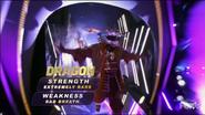Dragon-walkout visuals