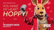 Kangaroo Valentine