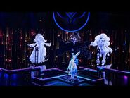 """Rabbit sings """"My Girl"""" by The Temptations - THE MASKED SINGER - SEASON 1"""