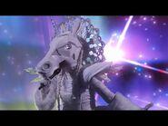 "Unicorn sings ""Fight Song"" - THE MASKED SINGER - SEASON 1"