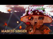 "Mushroom sings ""This Woman's Work"" by Maxwell - THE MASKED SINGER - SEASON 4"