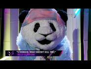 "Panda sings ""Stronger"" by Kelly Clarkson - THE MASKED SINGER - SEASON 2"