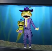 Frog and his Child