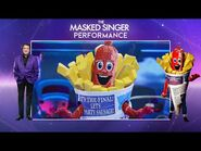 Sausage Performs 'I Wanna Dance With Somebody' - Season 2 Final! - The Masked Singer UK