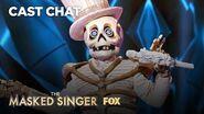 The Skeleton Is Unmasked It's Paul Shaffer! Season 2 Ep