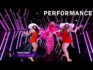 """Flamingo sings """"Footloose"""" by Kenny Loggins - THE MASKED SINGER - SEASON 2"""