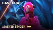 The Flamingo Is Unmasked It's Adrienne Bailon! Season 2 Ep