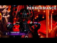 """Ladybug sings """"Young Blood"""" by 5 Seconds of Summer - THE MASKED SINGER - SEASON 2"""