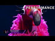 """Flamingo sings """"Hallelujah"""" by Jeff Buckley - THE MASKED SINGER - SEASON 2"""