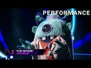 """Monster sings """"Stay With Me"""" by Sam Smith - THE MASKED SINGER - SEASON 1"""