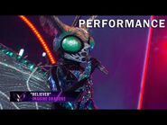 """Butterfly sings """"Believer"""" by Imagine Dragons - THE MASKED SINGER - SEASON 2"""