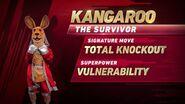 Kangaroo's stats