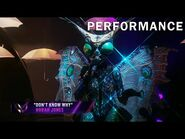 """Butterfly sings """"Don't Know Why"""" by Norah Jones - THE MASKED SINGER - SEASON 2"""