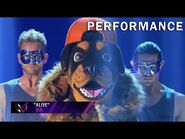 """Rottweiler sings """"Alive"""" by Sia - THE MASKED SINGER - SEASON 2"""