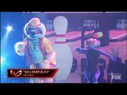 "Sloth Dances To ""Ballroom Blitz"" By The Struts - Masked Dancer - S1 Finale"