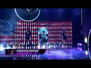 "Monster sings ""American Woman"" by Lenny Kravitz - THE MASKED SINGER - SEASON 1"