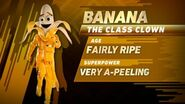 Banana's stats