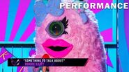 """Miss Monster sings """"Something To Talk About"""" by Bonnie Raitt THE MASKED SINGER SEASON 3"""