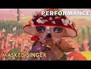 """Mushroom sings """"I Wish"""" by Stevie Wonder - THE MASKED SINGER - SEASON 4"""
