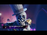"""Skeleton sings """"Are You Gonna Be My Girl"""" by Jet - THE MASKED SINGER - SEASON 2"""