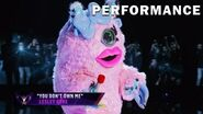 """Miss Monster sings """"You Don't Own Me"""" by Lesley Gore THE MASKED SINGER SEASON 3"""