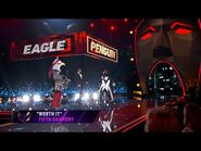 """Penguin sings """"Worth It"""" by Fifth Harmony - THE MASKED SINGER - SEASON 2"""