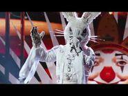 """Rabbit sings """"Isn't She Lovely"""" by Stevie Wonder - THE MASKED SINGER - SEASON 1"""