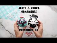 The Best Ideas for Kids- Zebra & Sloth Ornaments - Season 1 - THE MASKED DANCER