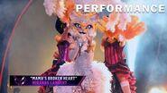 "Kitty sings ""Mama's Broken Heart"" by Miranda Lambert THE MASKED SINGER SEASON 3"