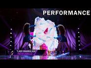 """Flamingo sings """"Lady Marmalade"""" by Patti Labelle - THE MASKED SINGER - SEASON 2"""