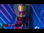 "Alien sings ""Ex's & Oh's"" by Elle King - THE MASKED SINGER - SEASON 1"