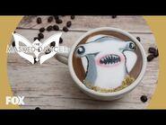 The Masked Dancer Latte Art - THE MASKED DANCER