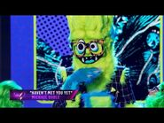 """Thingamajig sings """"Haven't Met You Yet"""" by Michael Bublé - THE MASKED SINGER - SEASON 2"""